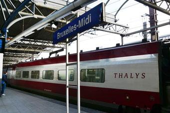 Brüssel mit dem Zug