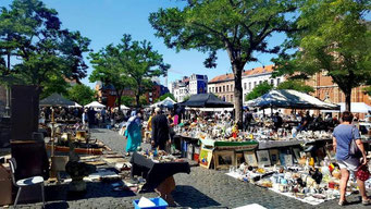 Flohmarkt Marolles Brüssel