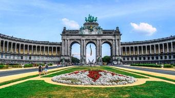 Brüssel Sehenswürdigkeiten Jubelpark
