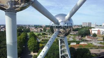 Brüssel Atomium besuchen