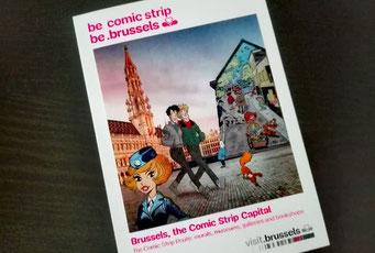 Brüssel Sehenswürdigkeiten Comic Strip Route