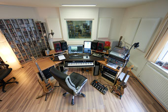 Ringo Studios Regieraum von oben