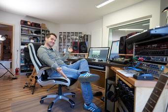 Ringo Studios Uli Göhring in der Tonstudioregie