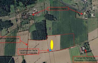 Le projet est situé au lieu-dit La Bourdonnerie, sur la commune de Dormans dans le département de la Marne.