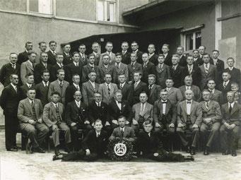 Mitglieder und Spieler des Vereins 1937
