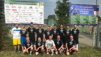 """""""Team AMZ Leipzig"""" mit Zöschener Beiteiligung beim Turnier in Stuttgart-Waiblingen."""