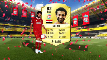 Mohamed Salah FIFA 19 Cover-Star