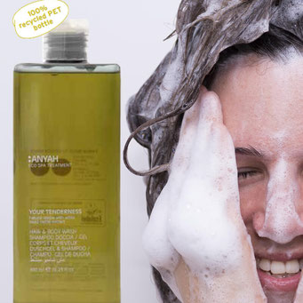 ANYAH ECO-Kosmetik, Duschgel und Shampoo