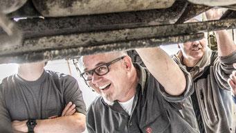 Peter Hinterleitner - Inhaber von Pete's Offroad Garage