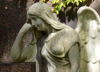 Engel St.-Pauli-Friedhof Bild: Susann Wuschko