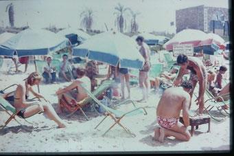 Bild: Foto:  Lissy Gröner, Israel Kibbuz,  Jugendfreizeit,  Holocaust, 1973, Kfar Ha Maccabi, Tel Aviv