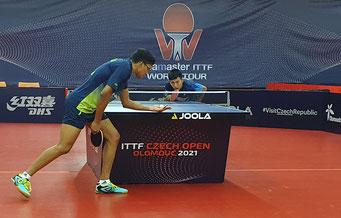 Foto Froschberg - Liu Zhenlong holt ersten Sieg bei WTT Tschechien