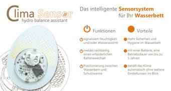 Wasserbett Clima Sensor von Carbon Heater