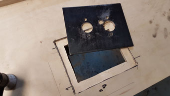 PLANAR Einbauplatte 5mm Blech