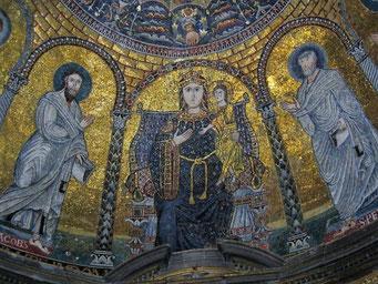 Церковь св. Пракседы в Риме