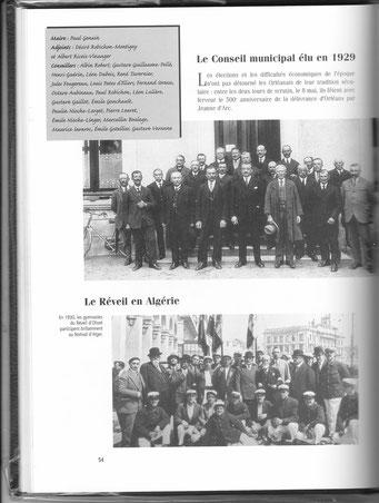 En 1930, des gymnastes du club participent au festival d'Alger