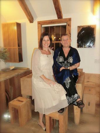 Nicole Pascher mit Mama Marianne Kohn NY 2014