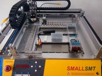 SMALLSMT PNP Machine Desktop PNP Bestückungsautomat Prototypenfertigung
