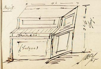 Wilhelm Remler: Illustrierende Skizze zum Patent