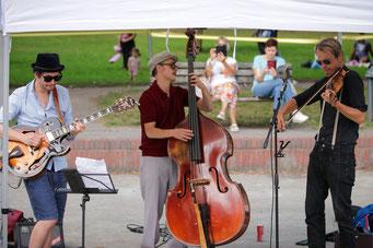 Violine, Geige, Gitarre, Jazz-Gitarre, Jazz-Duo