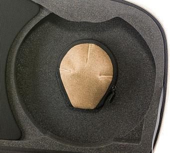 kleine Tasche für Zubehör im Waldhornkoffer