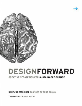 links etwas angeschnittenes, menschliches Gehirn mit metallisierter Oberfläche; Schrift teilweise in Grau.