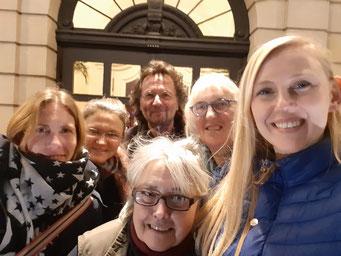Das SP-Team (von links): Tanja Wüstenbecker, Christiane Trierweiler, Ilona Ehlert, Erhard Schroll, Karla Ebert und Theresa Hiemesch