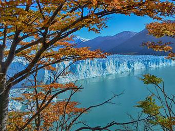 image d'un glacier en Argentine