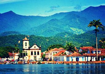 image ancienne ville du Brésil