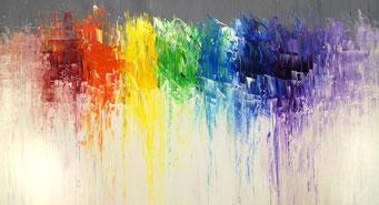 Like A Rainbow L1, gemalt in 2017
