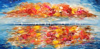 Maritimes Gemälde