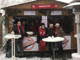 Unser Stand auf dem Bliesheimer Nikolausmarkt