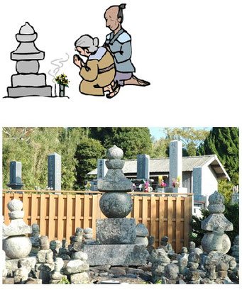 山口県長門市油谷 二尊院の楊貴妃の墓
