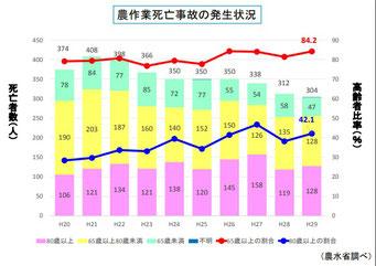平成 29 年に発生した農作業死亡事故
