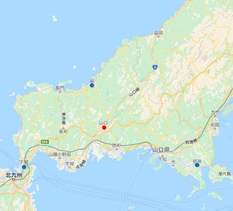 山口県(地図)