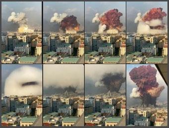 ベイルート大爆発(2020.08.04)