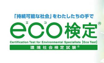 エコ検定(東京商工会議所のWebサイトにリンク)