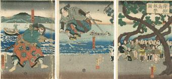 巌流島の戦い(武蔵と小次郎)