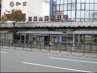 バス停(宇部中央)