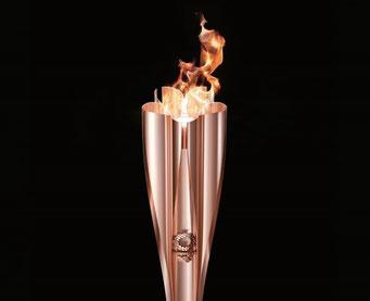オリンピック聖火2020