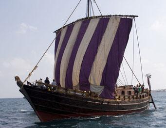 フェニキアの帆船