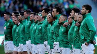 RWC2019アイルランドチーム