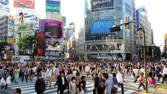 渋谷の人々