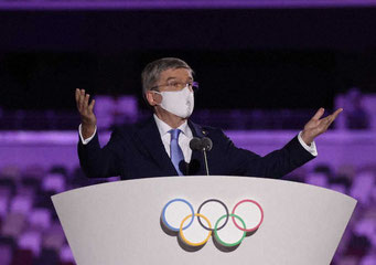 IOC バッハ会長