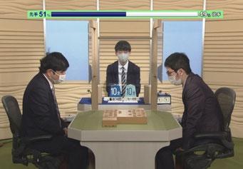 NHK囲碁将棋にAI形勢判断