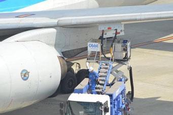 航空機への給油