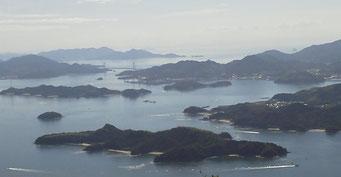 瀬戸内海の多島美