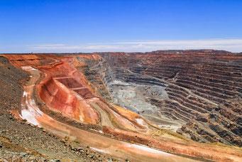 鉱物資源の採掘