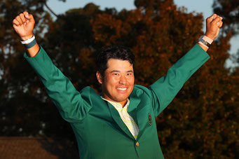 マスターズチャンピオン 松山英樹