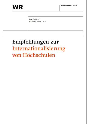 Titelseite der Empfehlungen